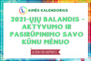FB-balandzio laimes kalendorius